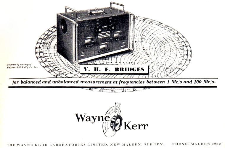 Wayne Kerr Electronics History